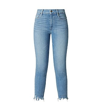 Hoxton Cropped Skinny Jeans