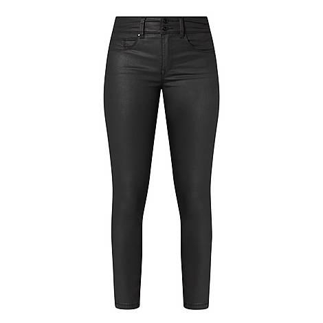 Secret Glamour Capri Jeans, ${color}