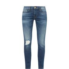 Le Garcon Distressed Boyfriend Jeans