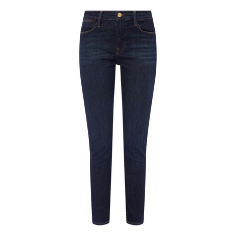 High Waisted Skinny Jeans, ${color}