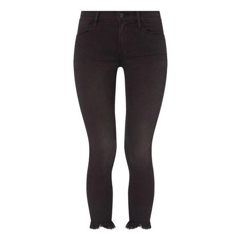 Micro Shredded Skinny Jeans, ${color}