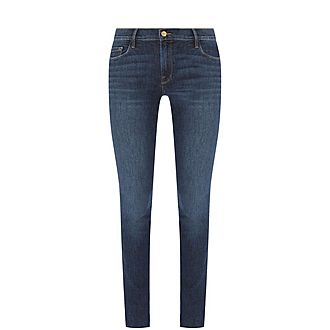 Jeanne Raw Edge Jeans