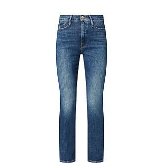 Le Sylvie Straight Jeans