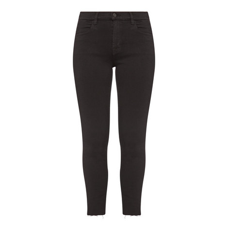 Alana High-Rise Cropped Jeans , ${color}