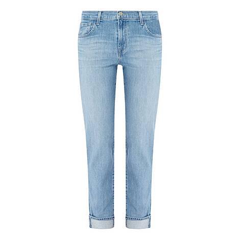 Johnny Mid-Rise Boyfriend Jeans, ${color}
