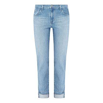 Johnny Mid-Rise Boyfriend Jeans