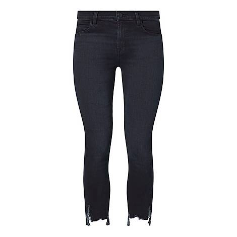 Alana High Rise Cropped Skinny Jeans, ${color}