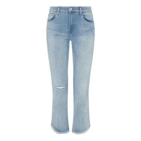 Selena Boot Cut Jeans, ${color}