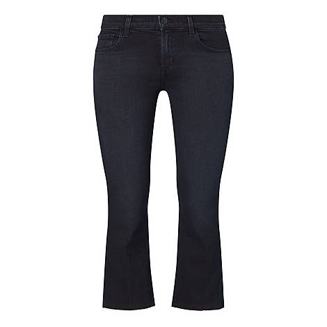 Selena Cropped Jeans, ${color}