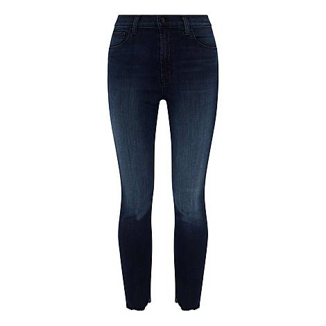 Leenah High-Rise Ankle Jeans, ${color}