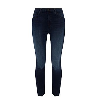 Leenah High-Rise Ankle Jeans