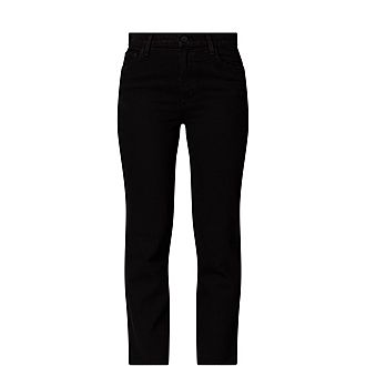 Jules High Rise Straight Jeans