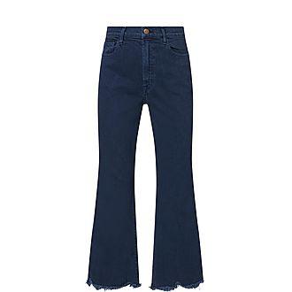 Julia Kick-Flare Jeans
