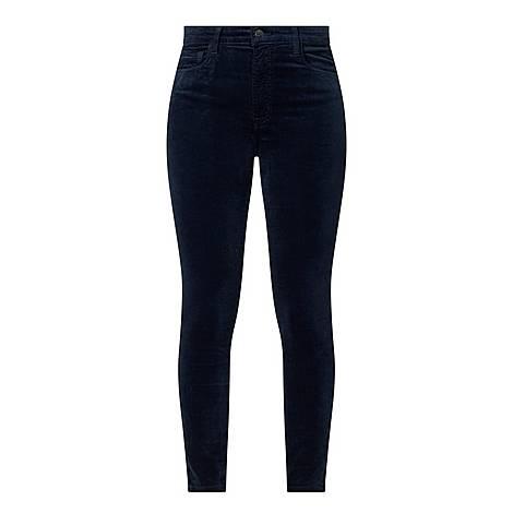 Leenah High Rise Skinny Jeans, ${color}
