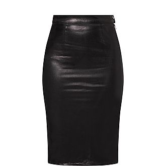 Side Zip Pencil Skirt