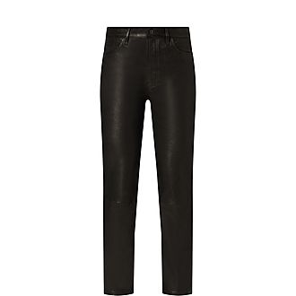 Jules Leather Jeans