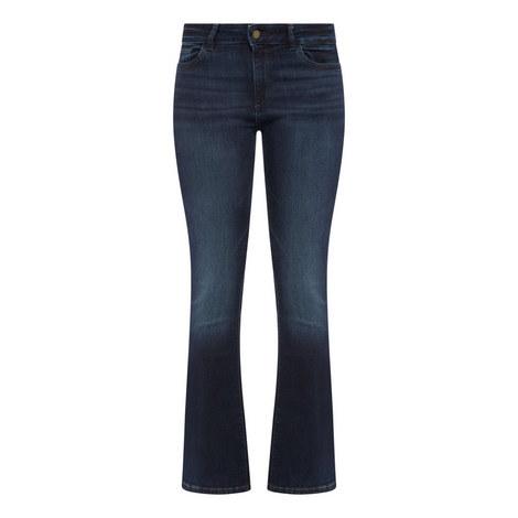 Bridget Peak Boot Cut Jeans, ${color}