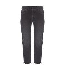 Josefina Frayed Hem Jeans