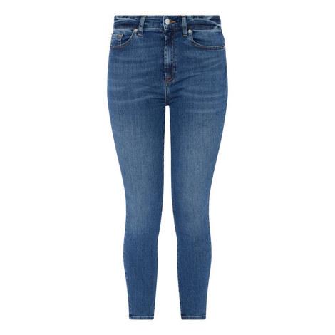 Aubrey Bair Skinny Cropped Jeans, ${color}