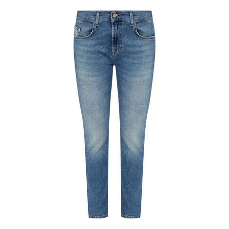 Luxe Vintage Straight Fit Jeans, ${color}