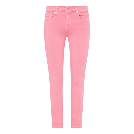 Skinny Cropped Jeans, ${color}