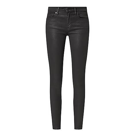 Skinny Coated Illusion Jeans, ${color}