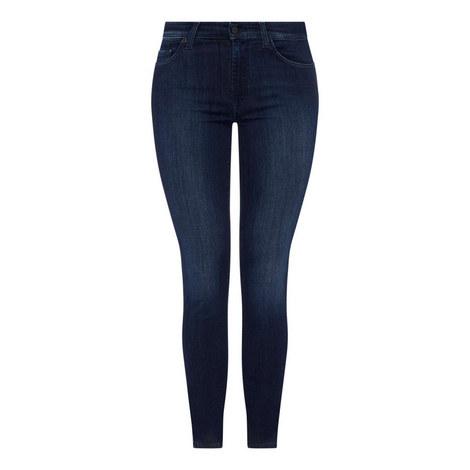 Rozie High Rise Slim Illusion Jeans, ${color}