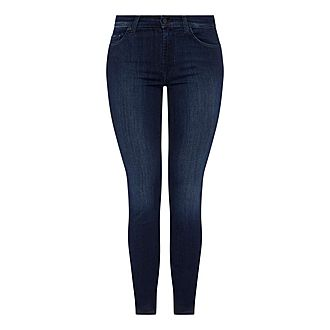 Rozie High Rise Slim Illusion Jeans