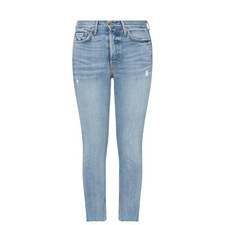 Karolina Distressed Skinny Jeans
