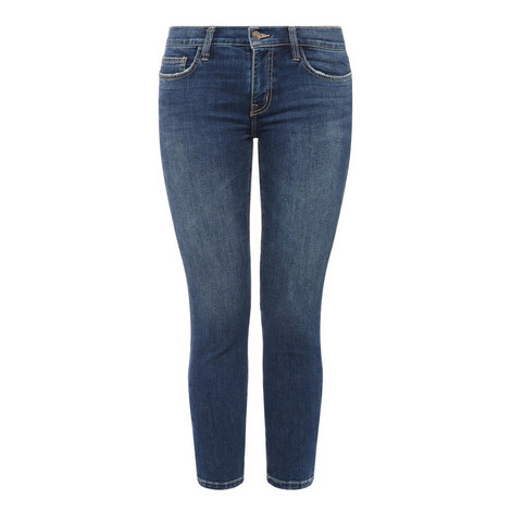 Stiletto High Waist Jeans, ${color}
