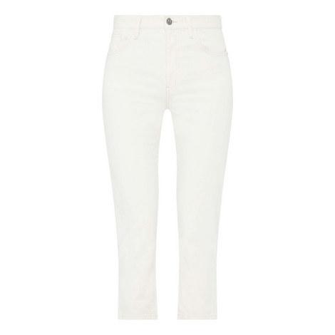 Vintage Slim Cropped Jeans, ${color}