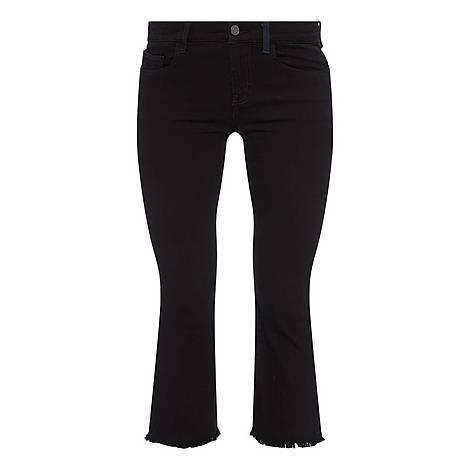 Kick Cropped Jeans, ${color}