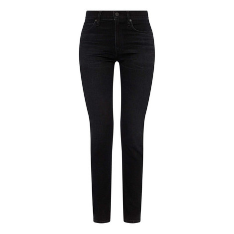 Harlow High-Rise Slim Fit Jeans, ${color}