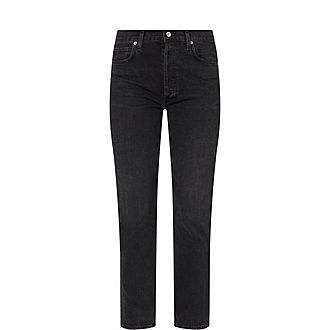 Charlotte Cropped Straight Jeans