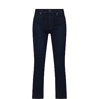 Claudine Kick-Flare Jeans
