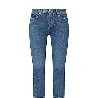 Riley Straight Cropped Jeans