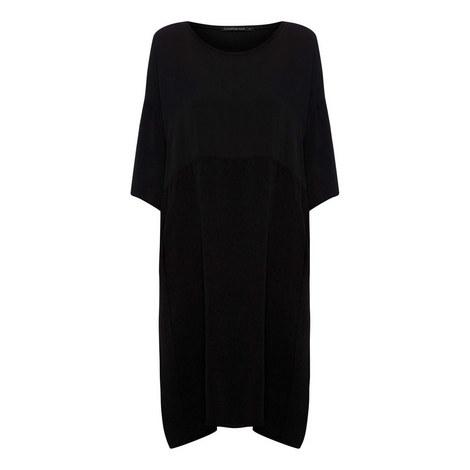 Crêpe Midi Dress, ${color}