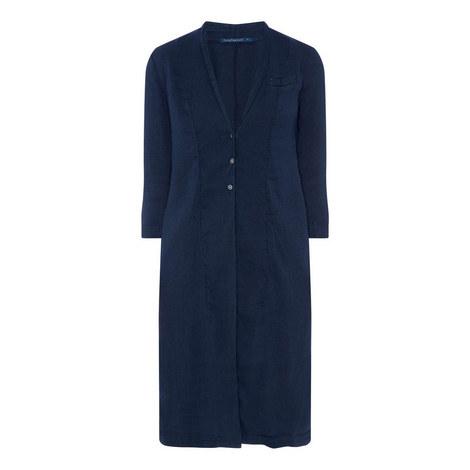 Woven Long Jacket, ${color}