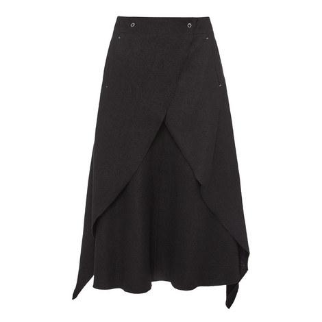 Wrap Wool Skirt, ${color}