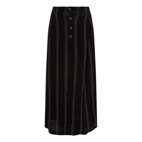 Contrast Stitch Skirt, ${color}