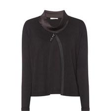 Silk Cardigan Top