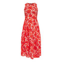 At Length Printed Dress, ${color}