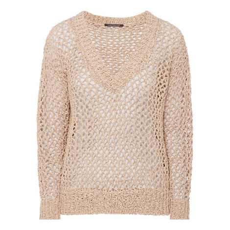 Suede Weave Sweater, ${color}