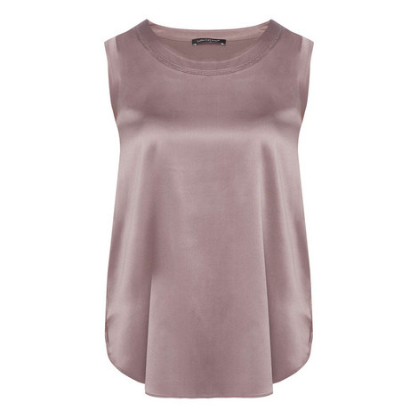 Silk Shoulder Camisole, ${color}