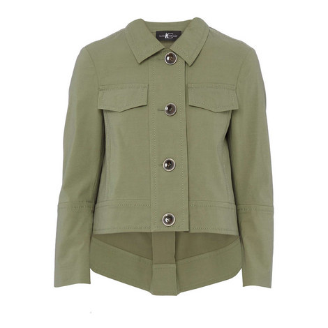Cropped Military Jacket, ${color}