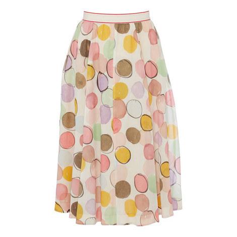 Bubble Print Skirt, ${color}