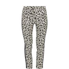 Star Print Trousers