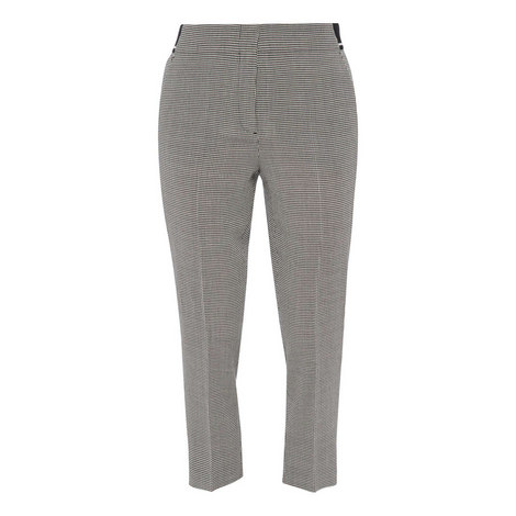 Check Slim Fit Trousers, ${color}