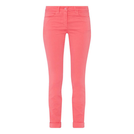 Solid Colour Skinny Jeans, ${color}