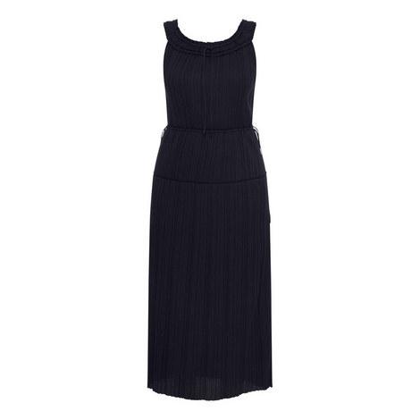Plisse Jersey Dress, ${color}